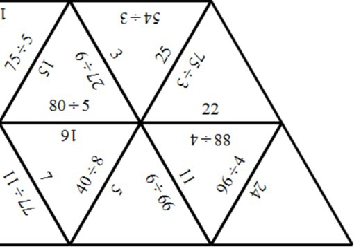2 Digit Integers - Dividing - Tarsia