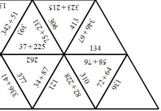 3 Digit Integers - Adding - Tarsia