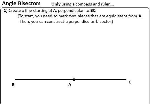 Angle Bisectors - Worksheet A