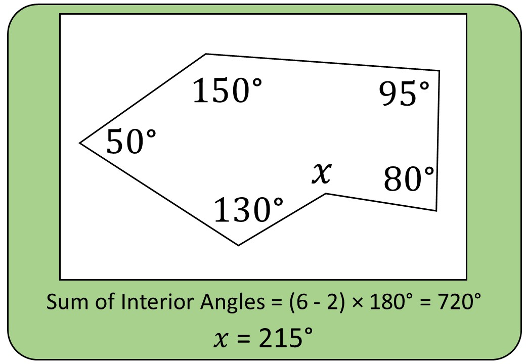 Angles - Irregular Polygons - Bingo M