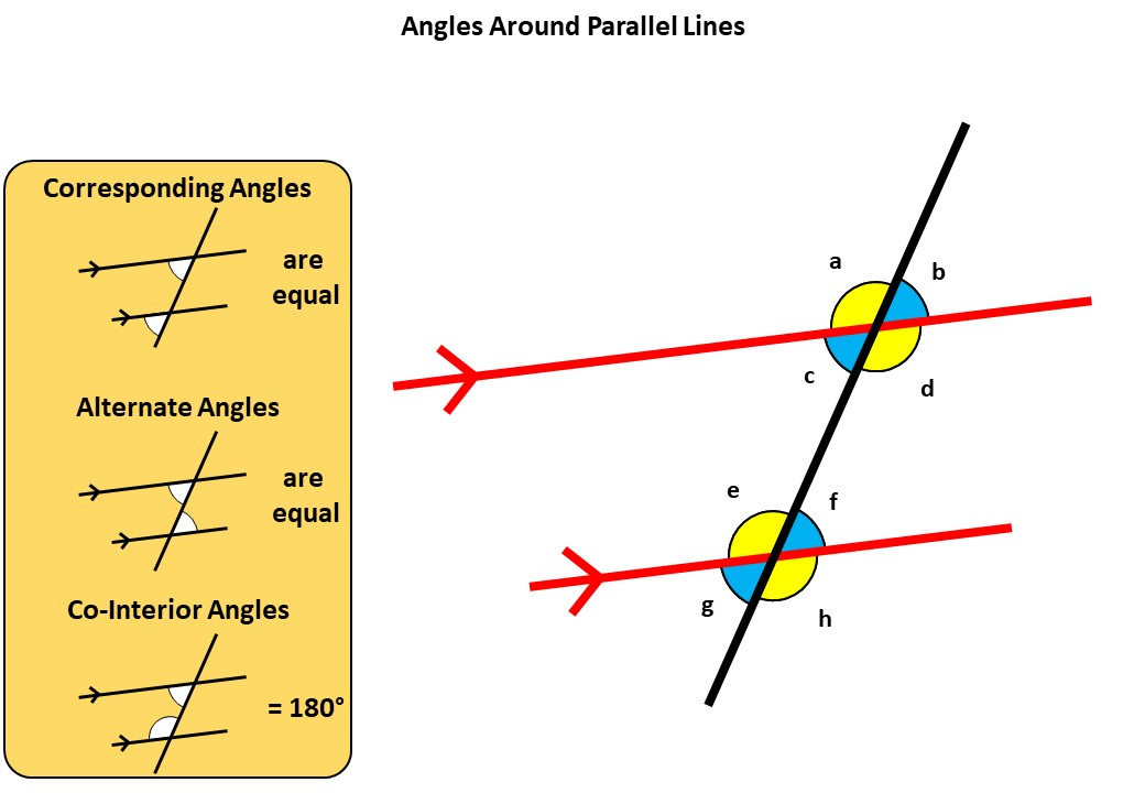 Angles - Parallel Lines - Demonstration