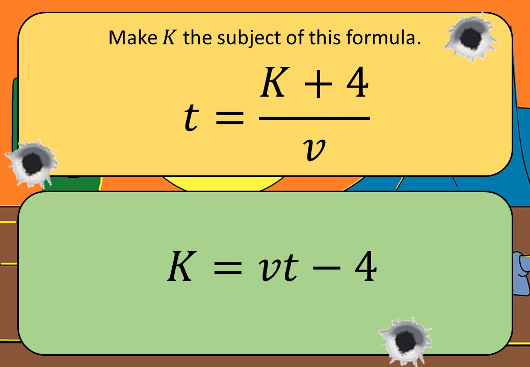 Changing the Subject of a Formula - Without Factorisation - Shootout