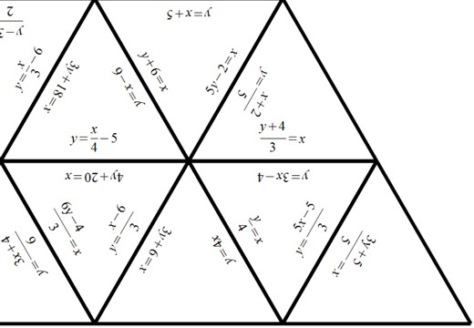 Changing the Subject of a Formula - Without Factorisation - Tarsia
