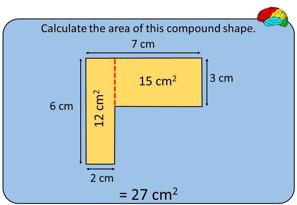 Compound Shapes - Area & Perimeter - Bingo OA
