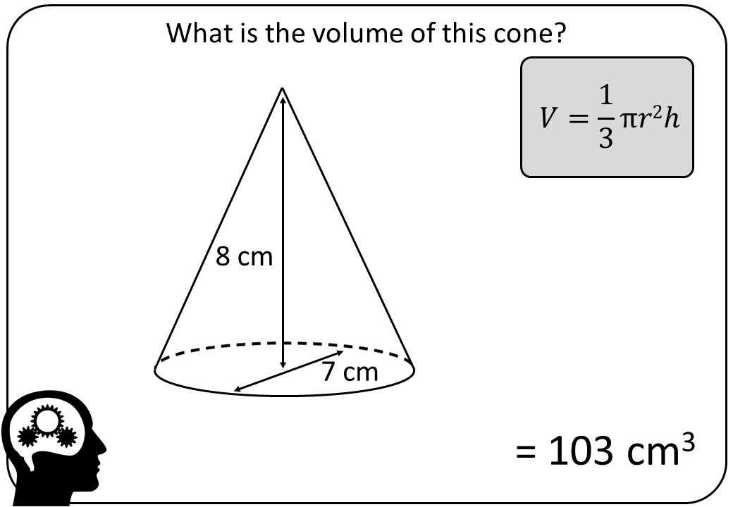 Cone - Volume - Bingo M