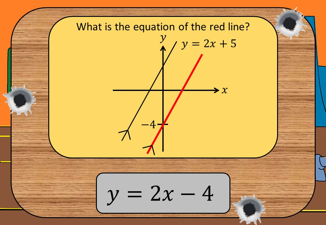 Equations - Parallel Lines - Shootout