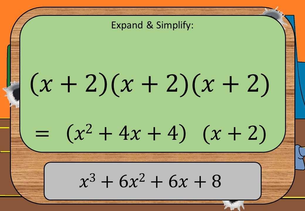 Expanding More than 2 Binomials - Shootout