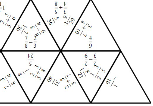 Fractions - Adding & Subtracting - Tarsia