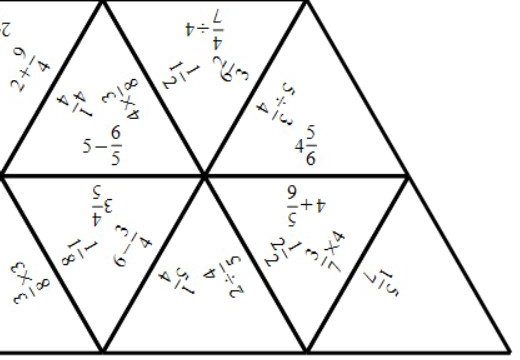 Fractions - Arithmetic With Integers - Tarsia