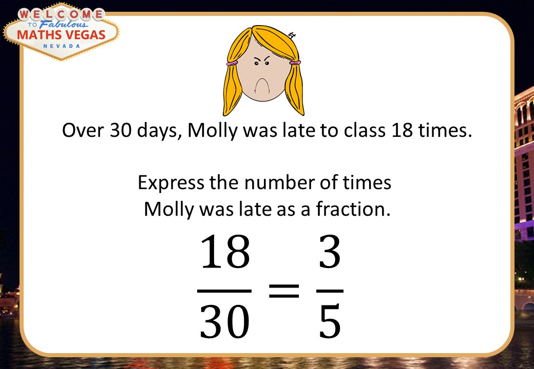 Fractions - Mixed - Maths Vegas