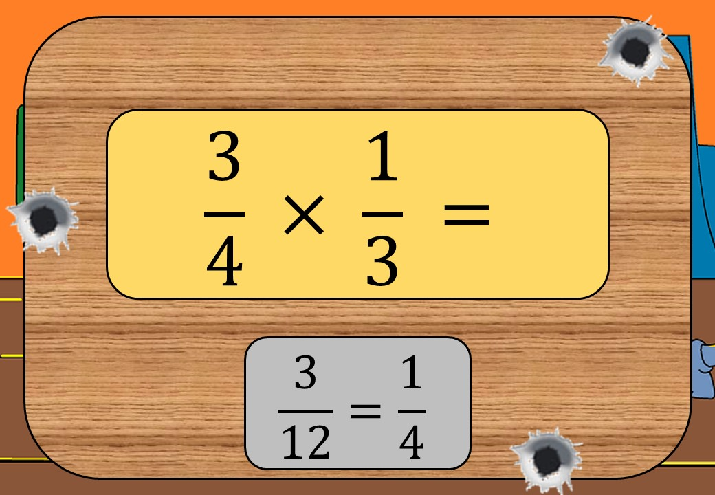 Fractions - Multiplying & Dividing - Shootout