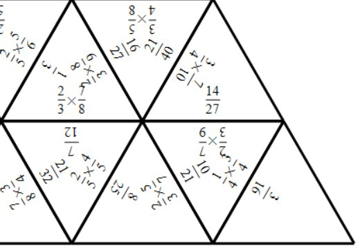 Fractions - Multiplying - Tarsia