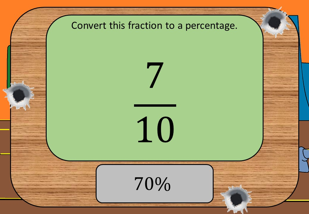 Fractions to Percentages - Shootout