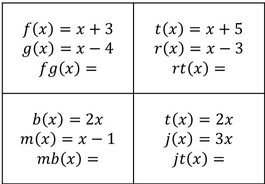 Functions - Composite - Substitution - Chief Cards