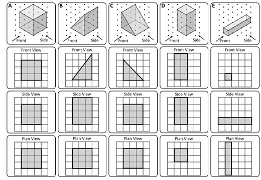 Isometric Grids - Card Match