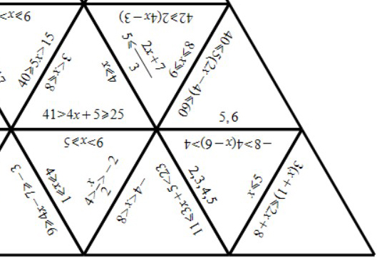 Linear Inequalities - Solving - Tarsia