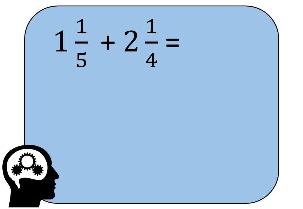 Mixed Numbers - Adding - Bingo M