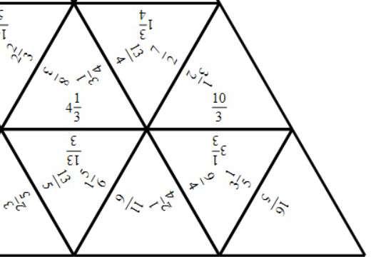 Mixed Numbers & Improper Fractions - Converting - Tarsia