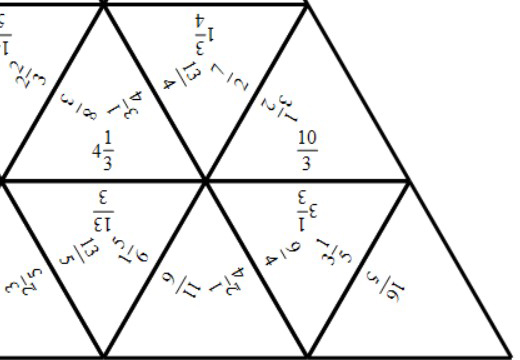 Mixed Numbers to Improper Fractions - Tarsia