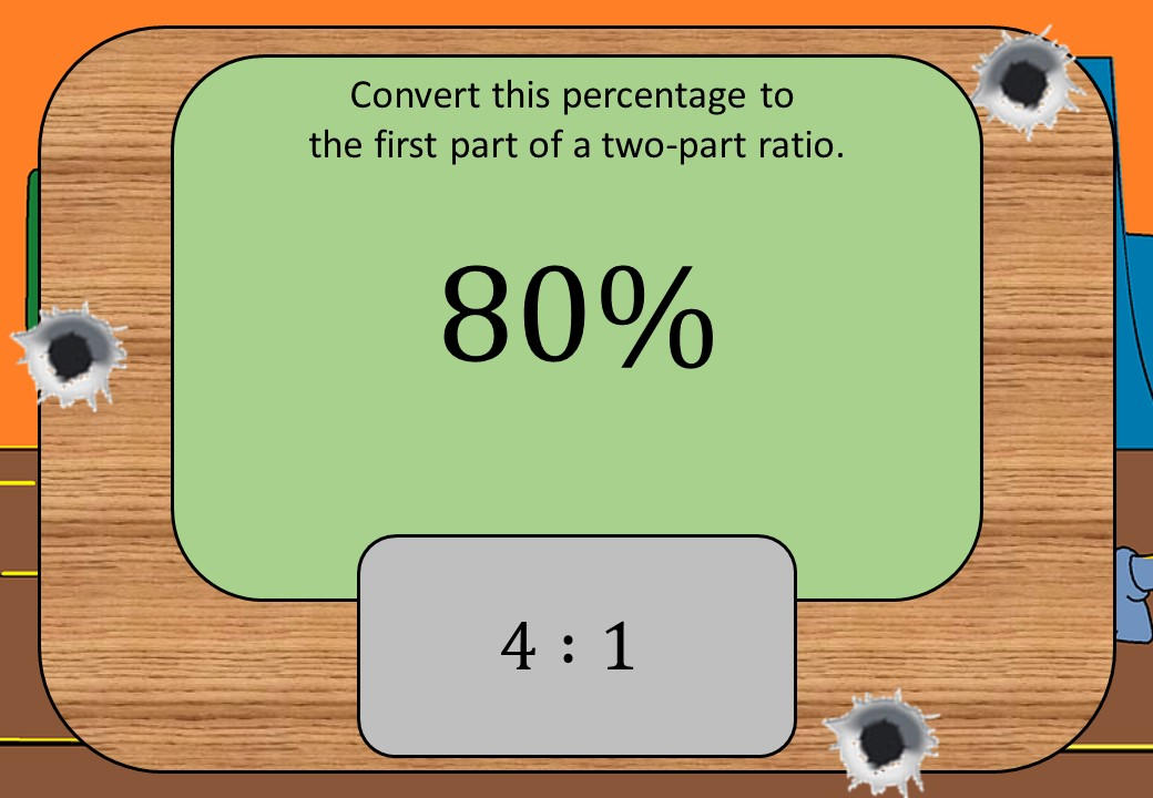 Percentages to Ratios - Shootout