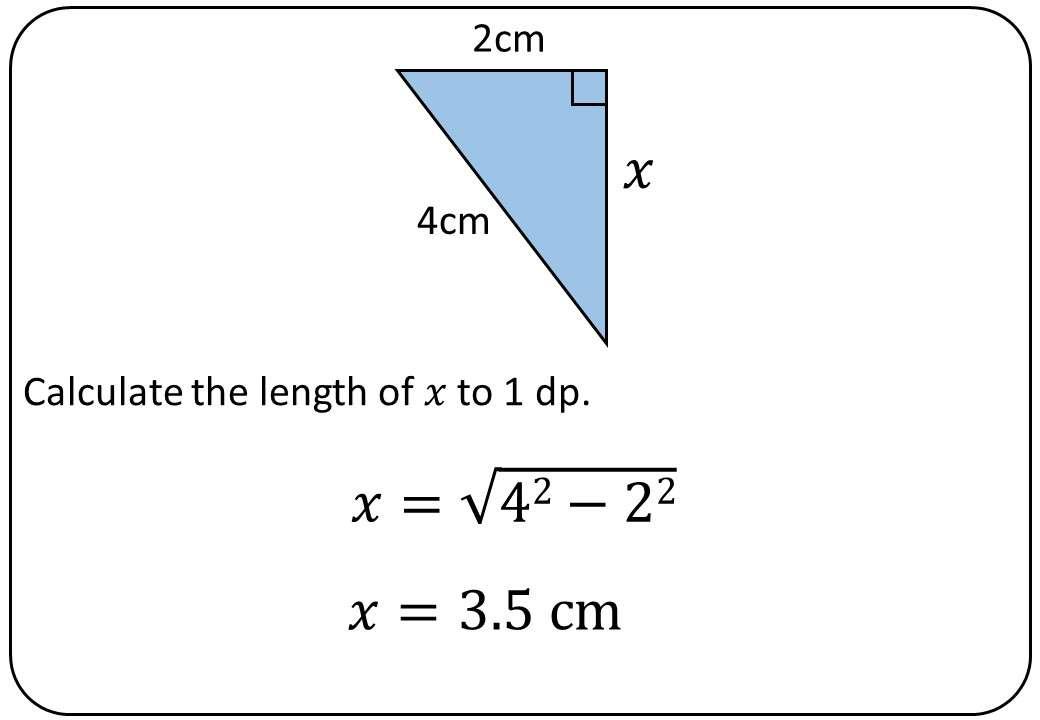 Pythagoras - Finding ABC - Bingo M
