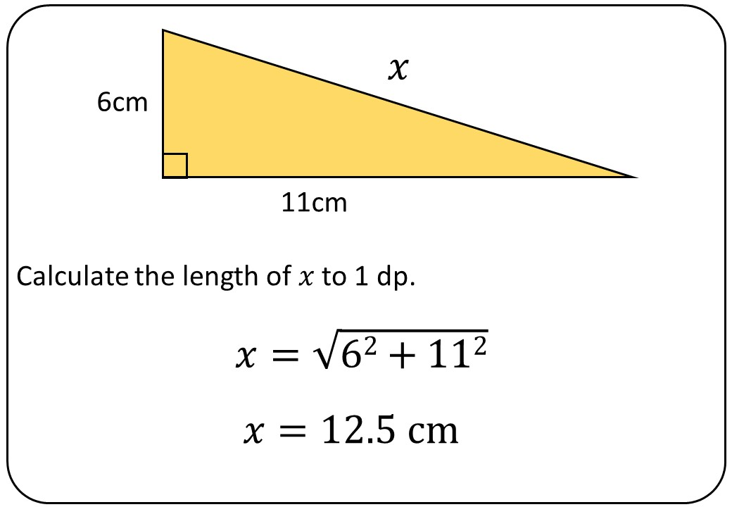 Pythagoras - Finding C - Bingo M