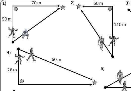 Pythagoras - Real-Life - Worksheet B