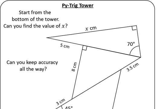 Pythagoras & Trigonometry - Worksheet A
