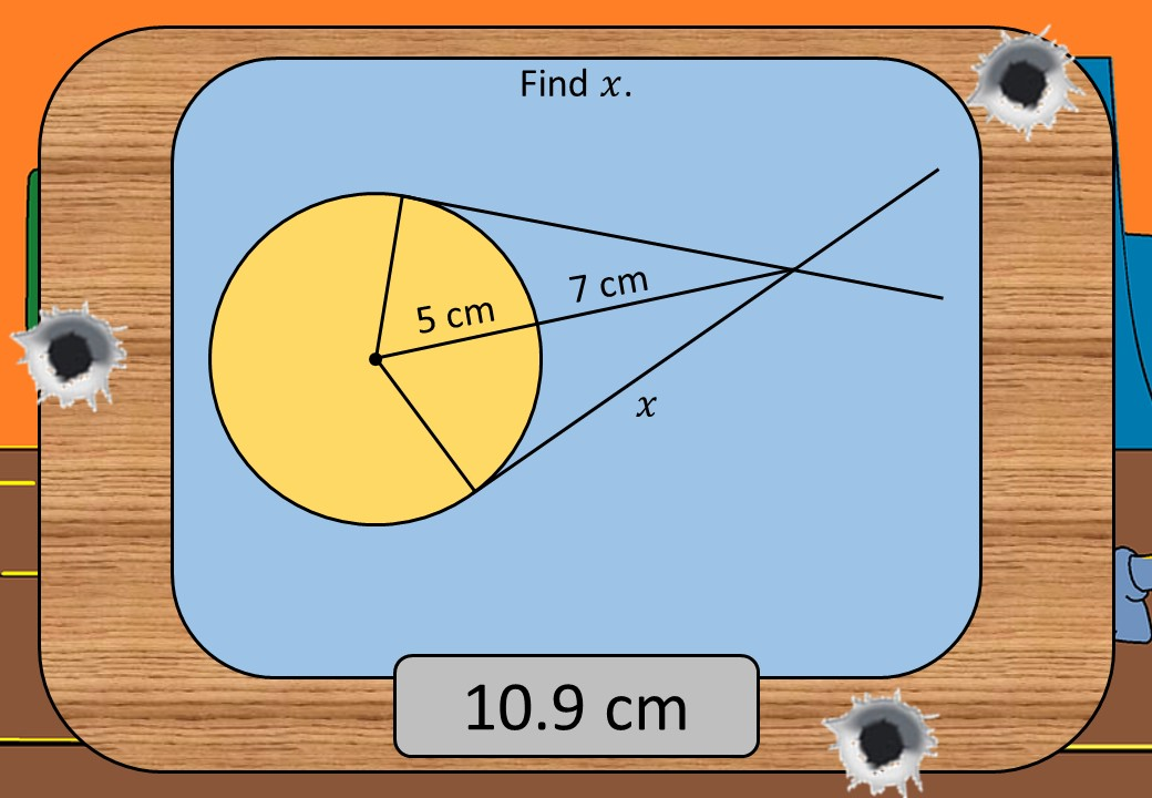 Pythagoras - With Circle Theorems - Shootout