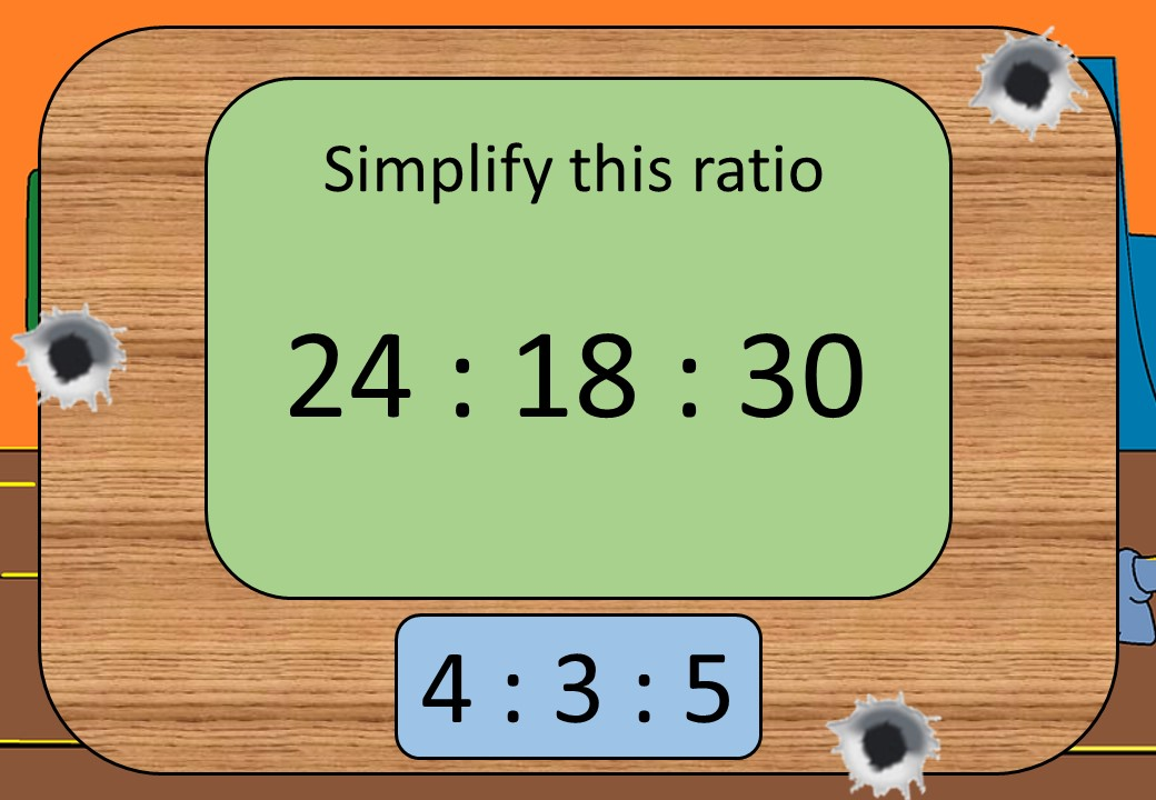 Ratio - Simplifying - Shootout