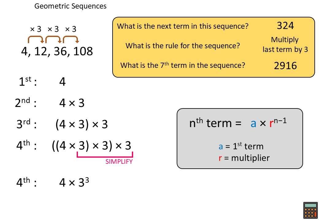 Sequences - Geometric - Demonstration