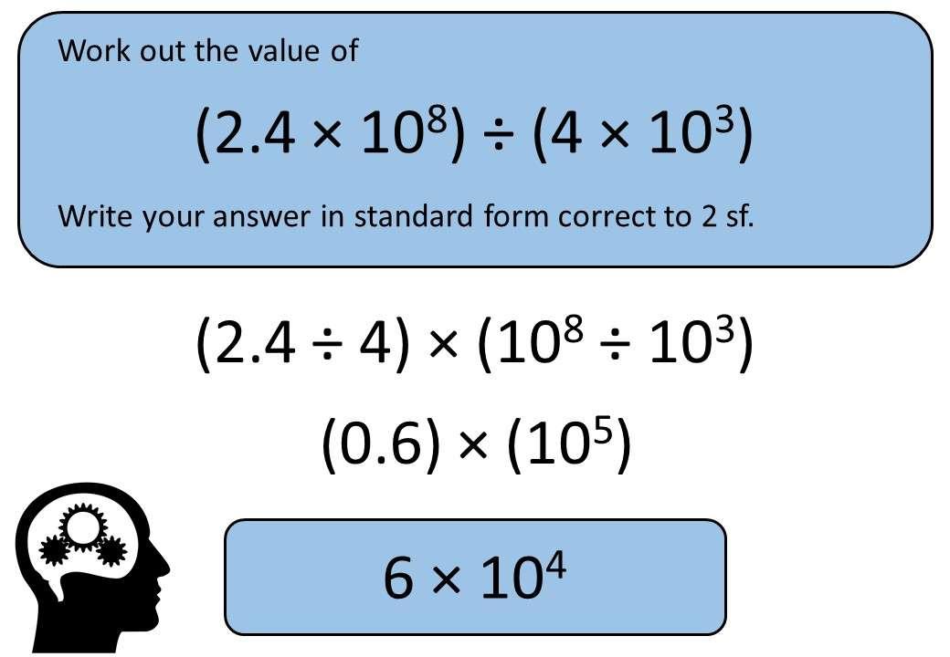 Standard Form - Multiplying & Dividing - Non-Calculator - Bingo M