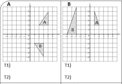 Transformations - Combinations - Worksheet A