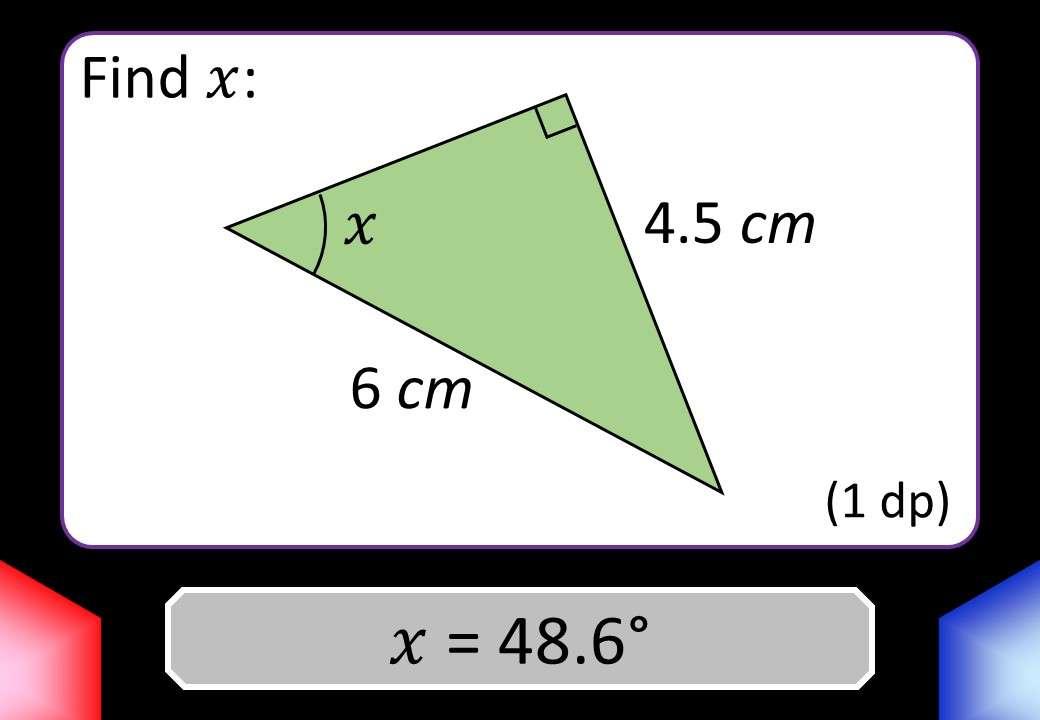 Trigonometry - Angles - Blockbusters