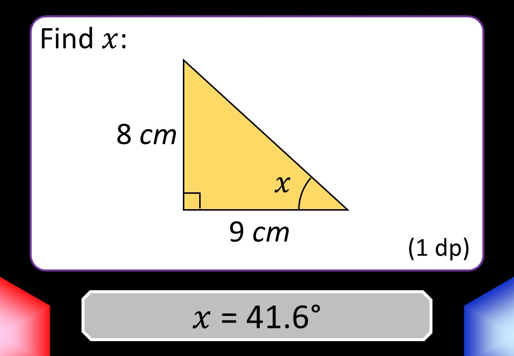 Trigonometry - Angles & Lengths - Blockbusters