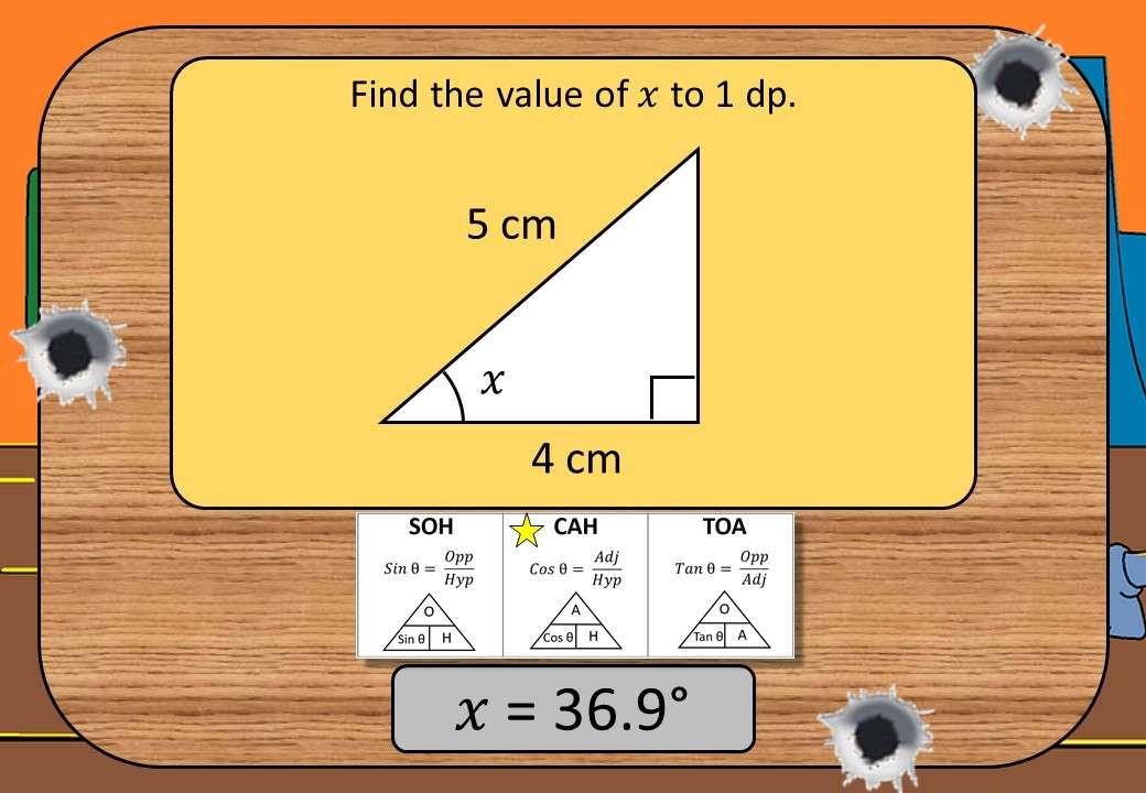 Trigonometry - Angles & Lengths - Shootout