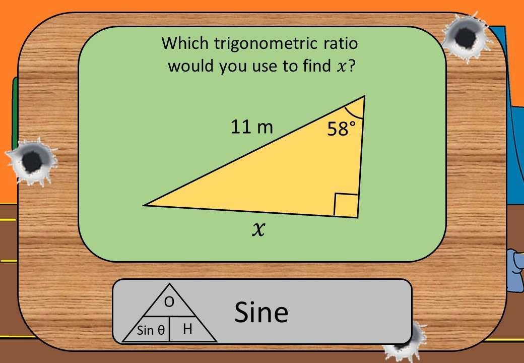 Trigonometry - Choosing Ratio - Shootout