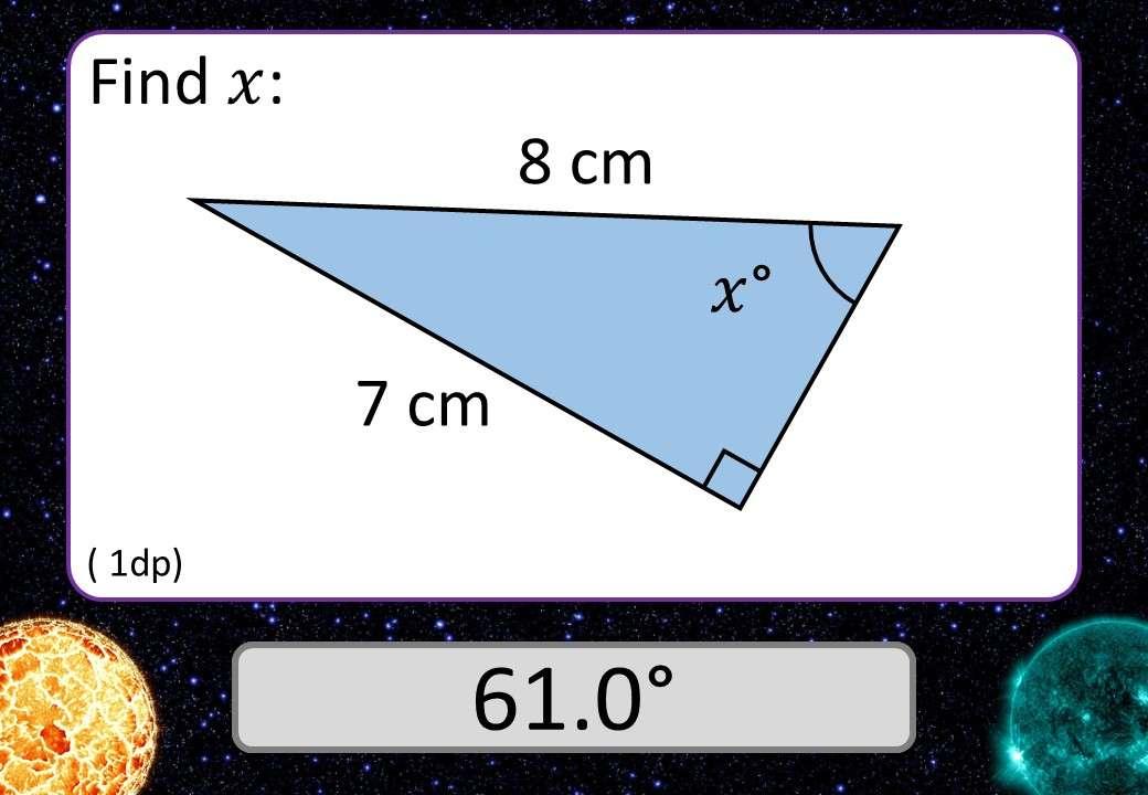 Trigonometry - Sine & Cosine - 3 Stars