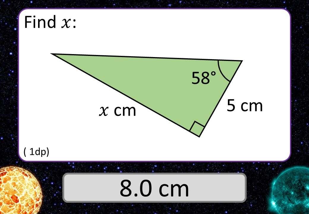 Trigonometry - Tangent - 3 Stars