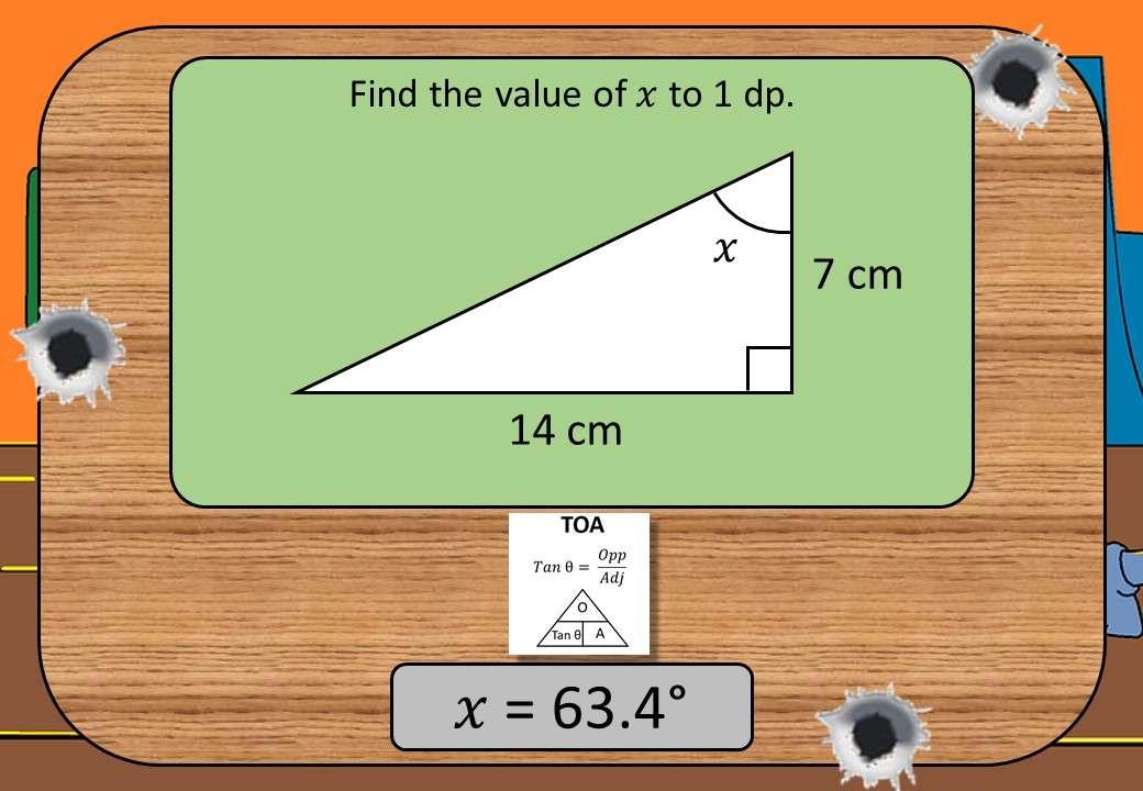 Trigonometry - Tangent - Angles - Shootout