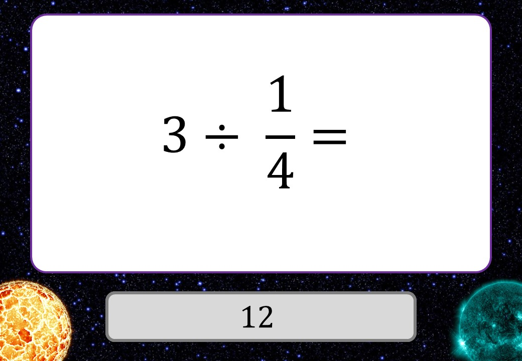 Unit Fractions - Arithmetic With Integers - 3 Stars