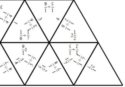 Unit Fractions - Dividing - Tarsia