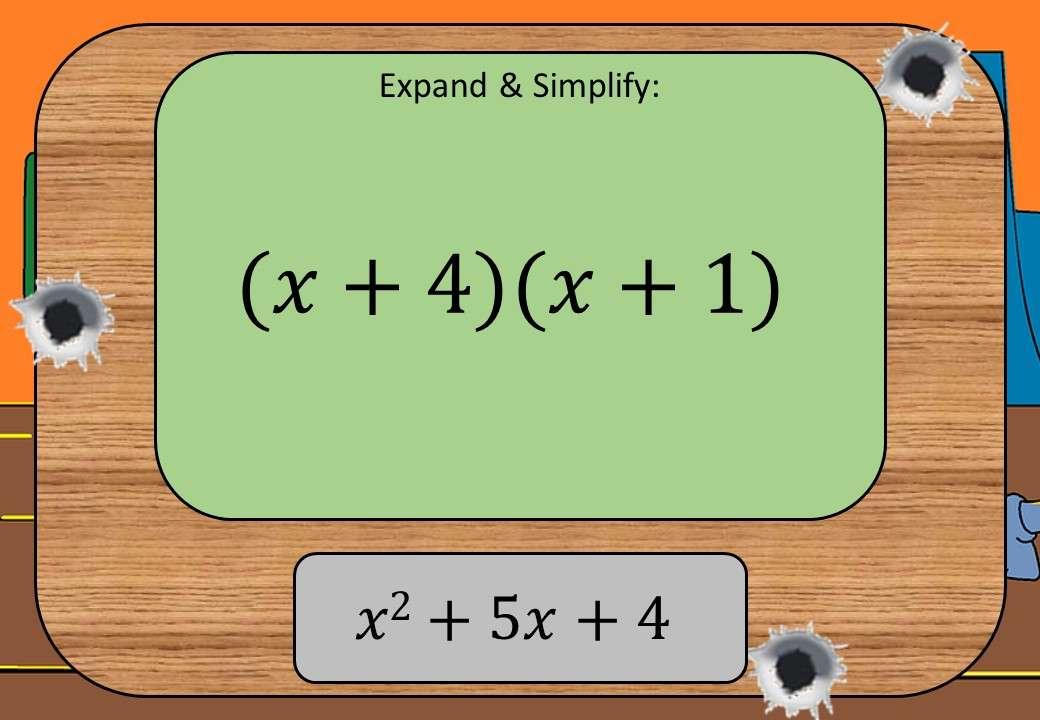 Expanding 2 or More Binomials - Shootout