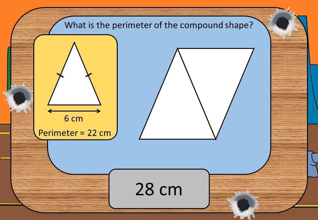 Compound Shapes - Perimeter - Shootout
