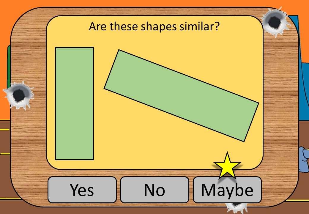 Similiar Shapes - Shootout