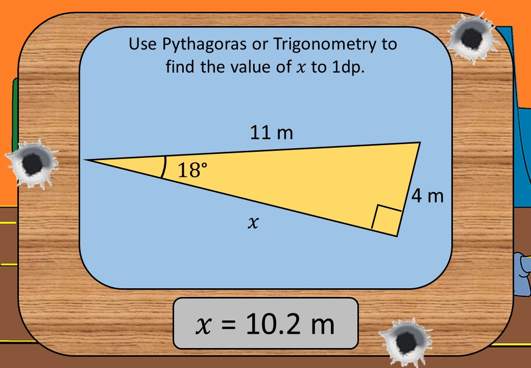 Trigonometry & Pythagoras - Mixed - Shootout
